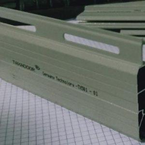 Cửa cuốn Đức nhôm khe thoáng TX-501