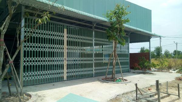 Thi công lắp đặt cửa kéo Đài Loan tại huyện Bình Chánh
