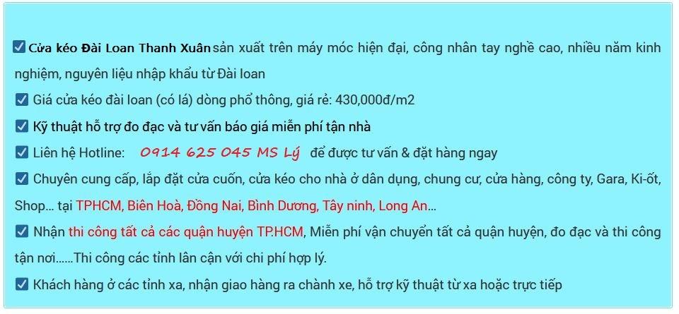 giới thiệu cty cửa Thanh Xuân