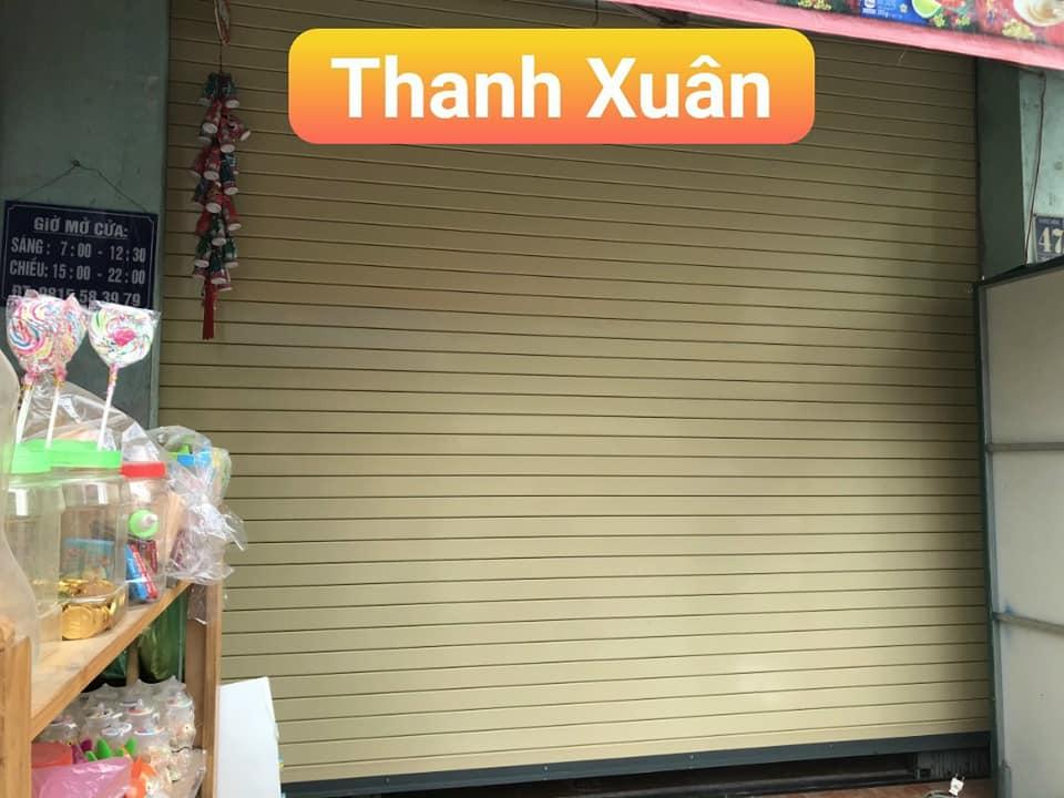 Hình ảnh thực tế cửa cuốn Đài Loan công nghệ Đức